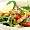 Prawn and Avocado Salad dish